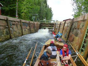 Wanderrudern Dalslandkanal 2014