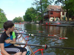 Bootshaus der Bamberger Rudergesellschaft