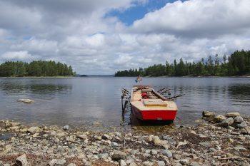 Wanderfahrt auf dem Dalslandkanal in Schweden