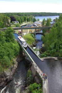 Trogbrücke in Håverud (Foto: Arne Borsum)