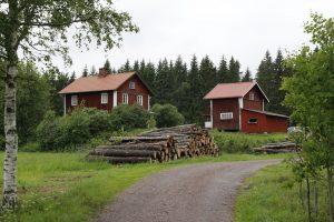 Unterkunft in Lennartsfors (Foto: Regine Oyntzen)