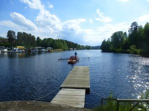 Ankunft in Gustavsfors (Foto: Hans-Heinrich Hartmann)