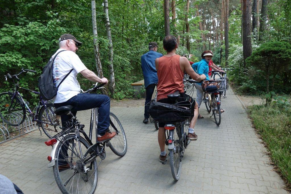 Besuch aus Rennes - Radtour