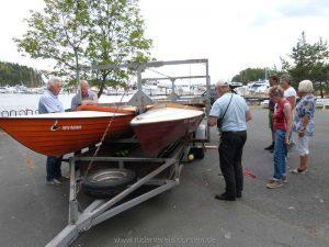 Die Boote sind verladen