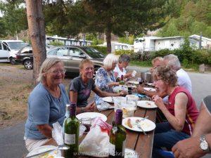 Abendessen Utvika Camping