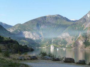 Anfahrt nach Flåm – das ist leider kein Morgennebel