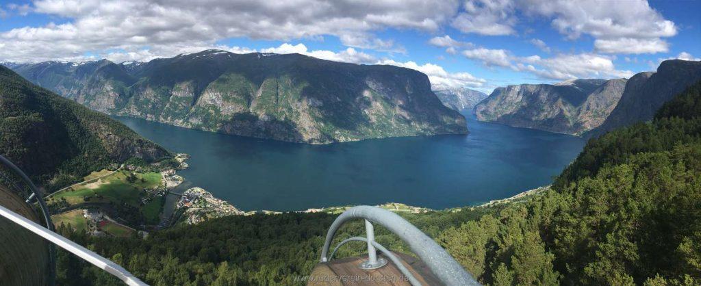 Aber der Wahnsinn hier ist natürlich dieses Panorama!