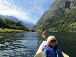 Hier im Nærøyfjord sind…