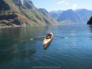 Wir haben gewechselt – auf zum Nærøyfjord