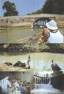 Bilder von der Wanderfahrt aif dem Canal de Midi 1978