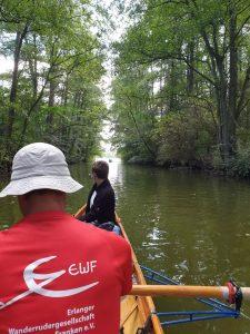 Rudern im Bolter Kanal