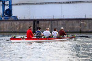 """Jungfernfahrht des Bootes """"Friedel"""" auf dem Main-Donau-Kanal"""