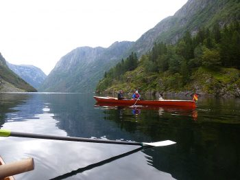 Bilder von der Wanderfahrt auf dem Sognefjord
